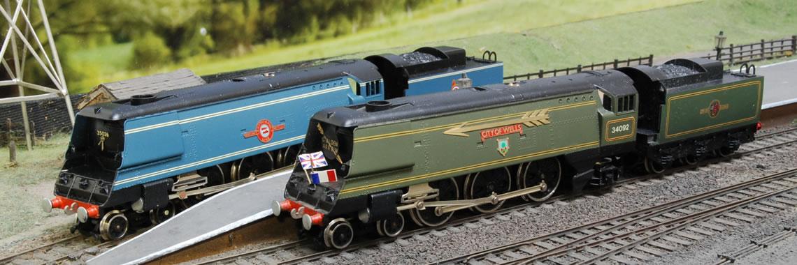 See Steam Locomotives
