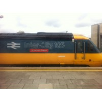 Meeting Sir Kenneth Grange Inter-City 125 in Cardiff
