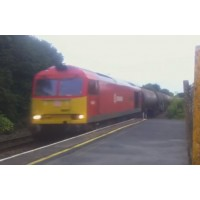 DB Schenker Hauling Tankers Through Clunderwen Pembrokeshire