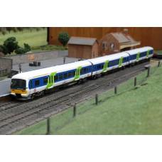 Bachmann 31-027 Network Express Turbo Class 166 3 Car DMU