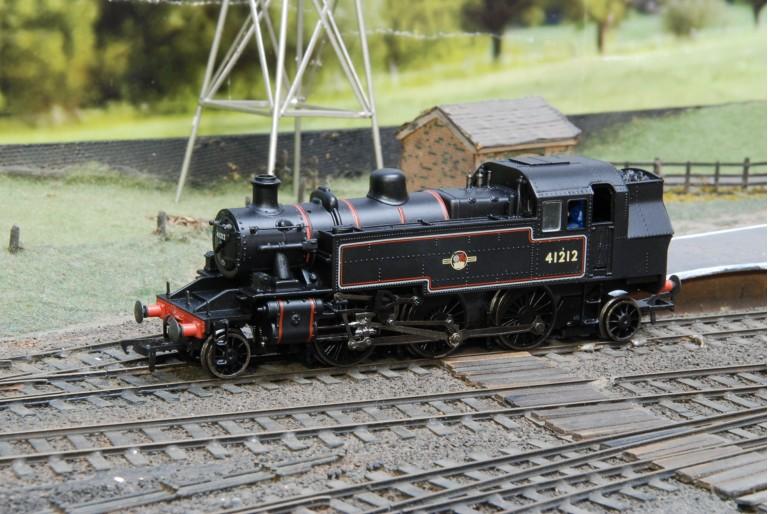 Ivatt Tank BR 41212 Black Loco 31-455