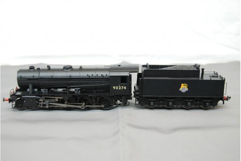WD 2-8-0 Austerity 90275 BR Black E/Emblem