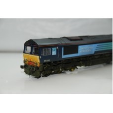 Bachmann Class 66 DRS Loco DCC Fitted Weathered