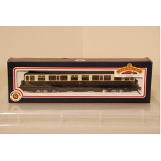 Collett 60ft 1st Chocolate Cream GWR S-Button Coach