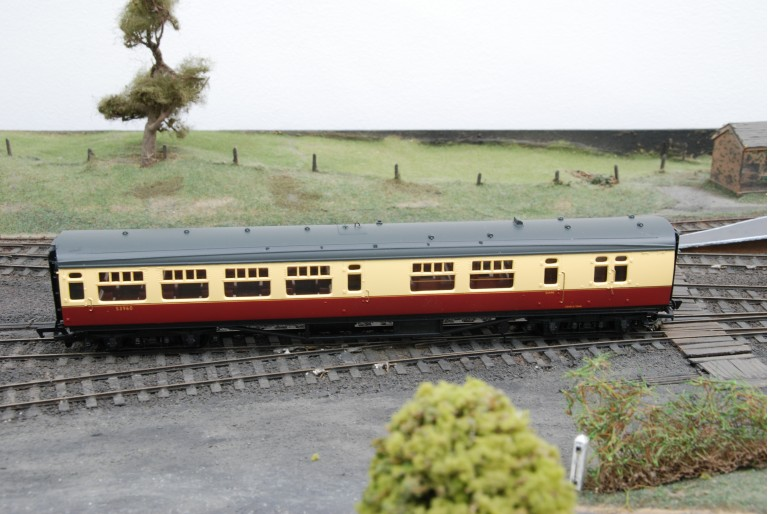 Bulleid 63ft Corridor Open Brake 2nd Coach