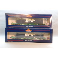 Intermodal Wagon with Containers EFS 37-302A