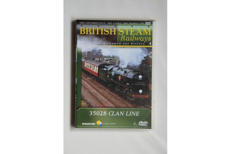 British Steam Railways #4 35028 Clan Line