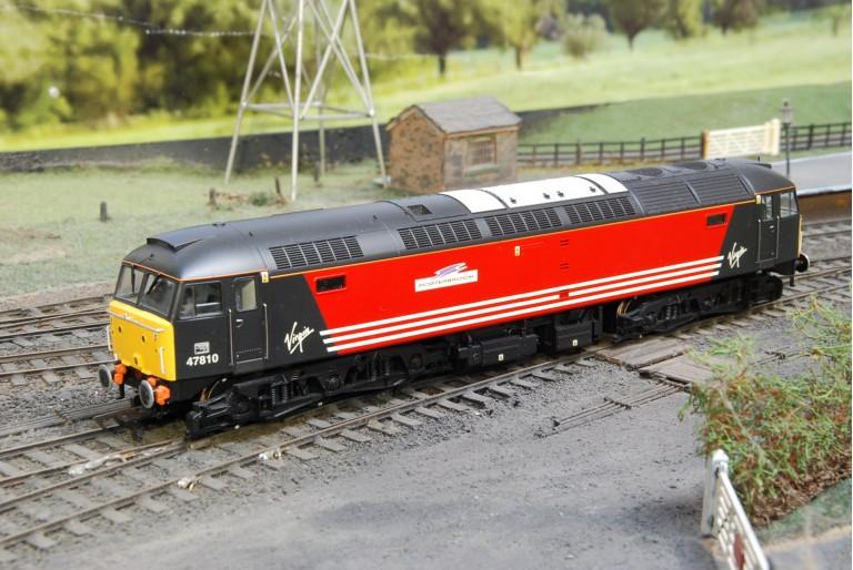 Class 47 Diesel Porterbrook Virgin Trains 47810