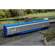 Heljan 5004 Cargo Waggon Silver Blue