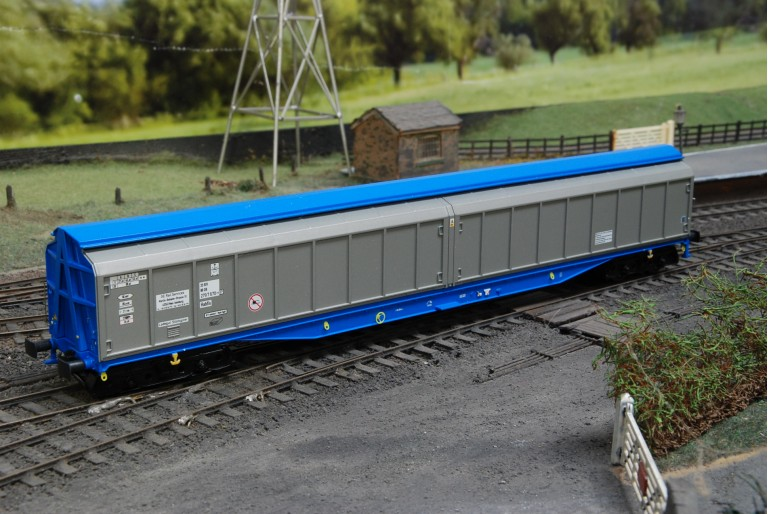 Cargo Waggon Silver - Heljan 5005