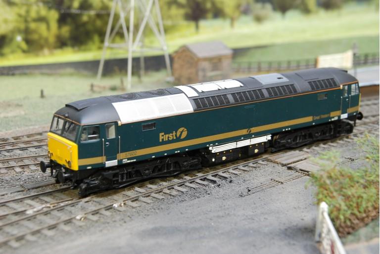 Class 57 First Great Western Heljan