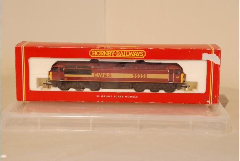 Hornby R2075 Class 56 EWS 56058