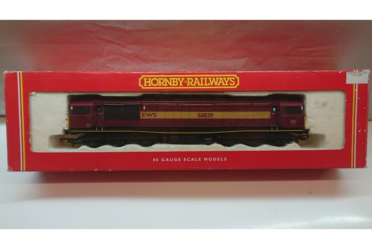 EWS 58 Class 58039 Hornby