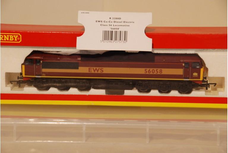 Class 56 EWS 56058 Hornby