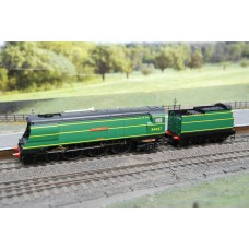 West Country Class Clovelly Steam Loco R2315
