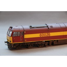 EW&S Class 60 DCC Fitted Weathered