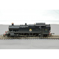 BR 2-6-2-T 61 Class Locomotive 5157 Black Weathered