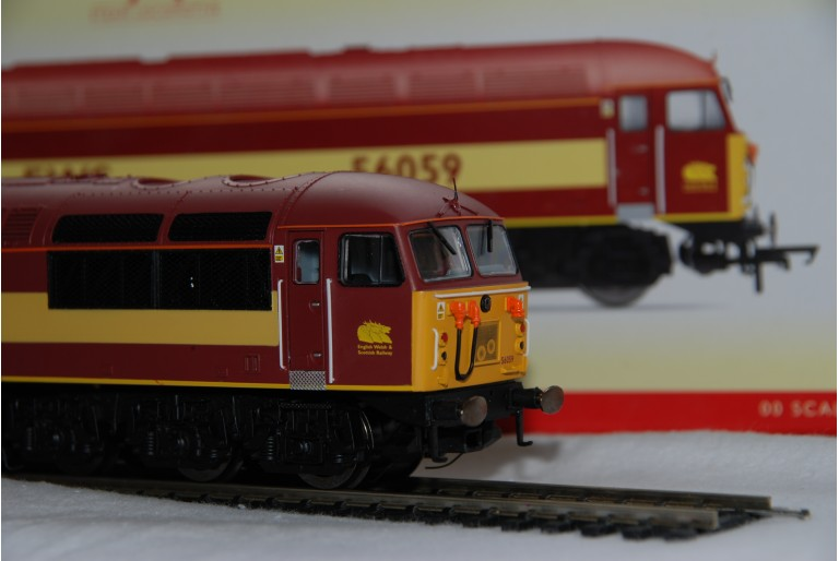 Class 56 EWS DCC Fitted Hornby 56059