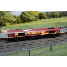 Class 66 Lafarge Buddon Wood EWS Hornby R2651