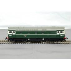 Class 33 Diesel BR D6537 Hornby