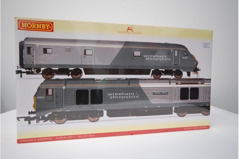 Wrexham Shropshire Hornby R2951 Train Pack New