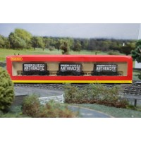 3 Pcs Wagon Pack Anthracite Ammanford Colliery Co Ltd