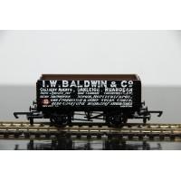 Hornby I W Baldwin & Co Black Plank Wagon