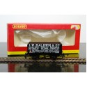 Hornby I W Baldwin & Co Black Plank Wagon