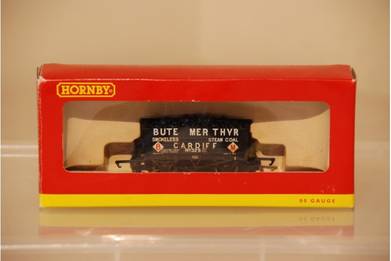 6 Plank Wagon Bute Merthyr Cardiff No 325