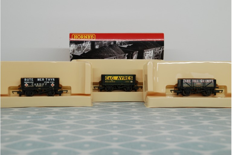 Assorted Weathered Plank Wagons