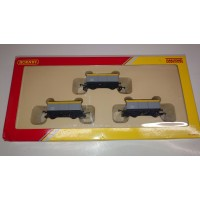 Hornby Triple Mineral Wagon Pack of 3