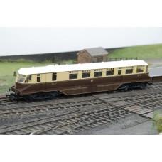 GWR Powered Railcar No.22 in Brown & Cream