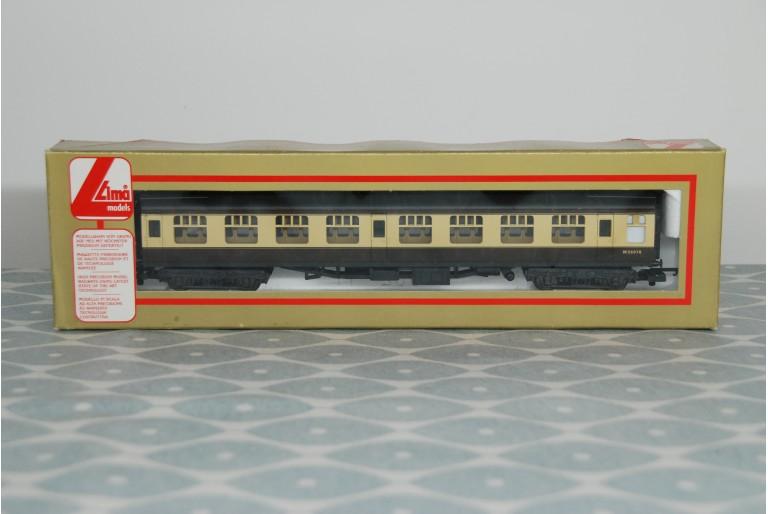 Lima Cream & Brown Corridor Coach W26070
