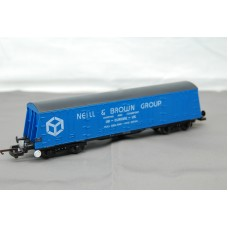 Shipping Container Blue Neill & Brown Group Wagon