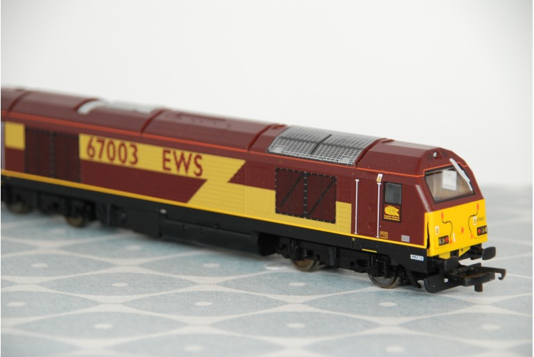 Class 67003 EWS - Snapped Body