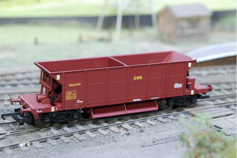 Seacow Ballast Wagon in EWS DB982138
