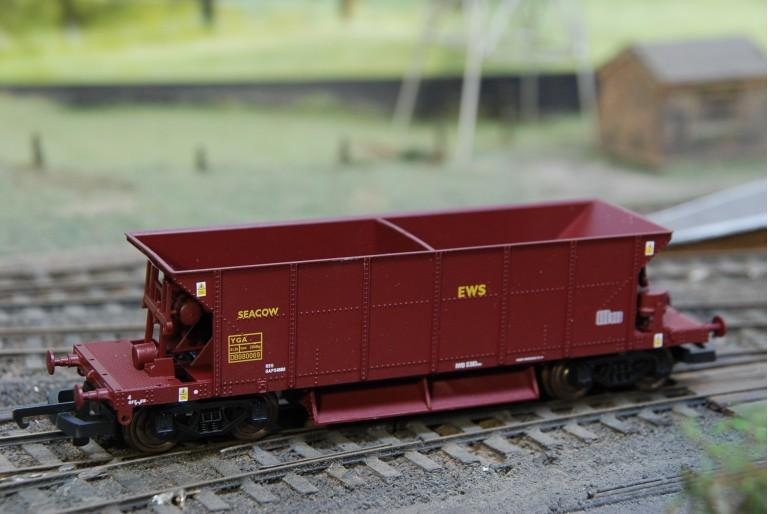 Seacow Ballast Wagon in EWS DB980069