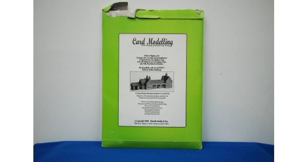 Metcalfe Platform Set OO Gauge Card Kit PO216