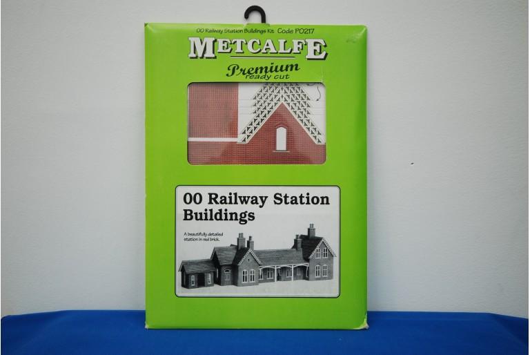 Railway Station Buildings Kit by Metcalfe P0217