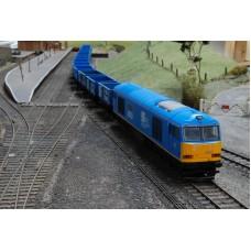 British Steel Locomotive & Wagon Set