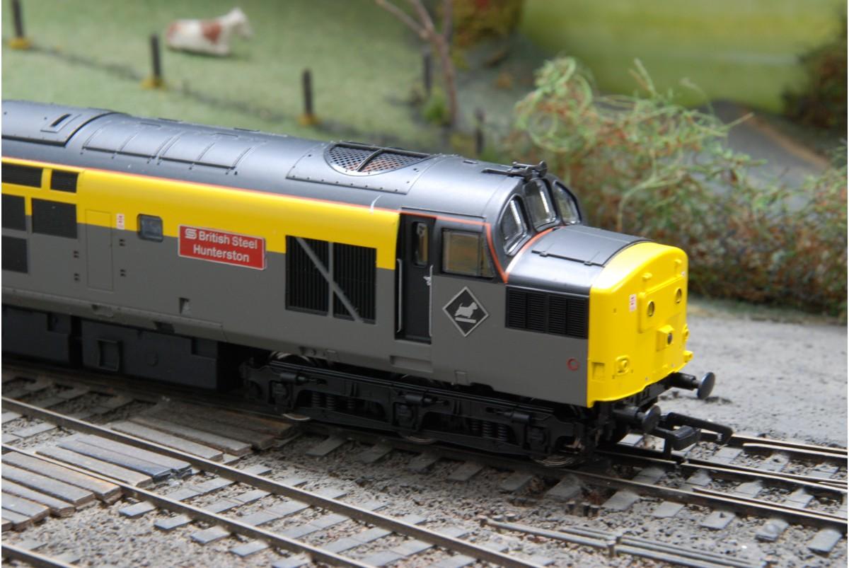 British Steel: ViTrains 2026 Class 37 British Steel Hunterston37156