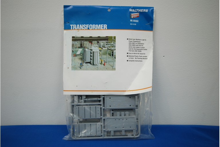 Walthers Transformer Model Kit 933-3126