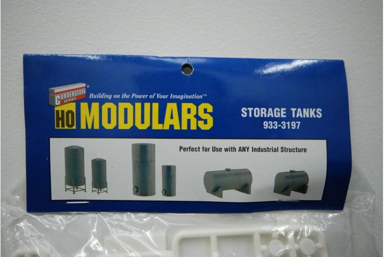 Industrial Storage Tanks Detail Set Model Kit