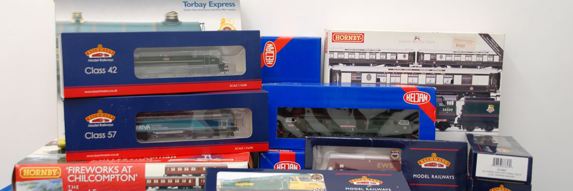 How to sell a model railway train collection for best value price